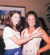 Two 1996 scholars reunite at the 1998 luncheon